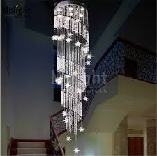 Star Chandeliers 2015 New Style Moon And Star Spiral Design Crystal Chandelier