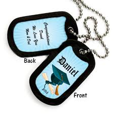 graduation dog tags personalized graduation dog tags
