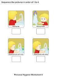 printable hygiene activity sheets 13 best hygiëne images on pinterest personal hygiene activity