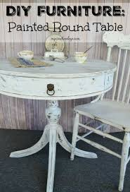 dining room table makeover ideas diy furniture painted round table my creative days
