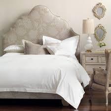 Upholstered Headboard Bed Frame Image Detail For Antoinette Style Upholstered Headboard