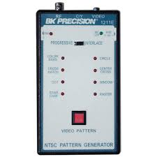 color pattern generator ntsc color pattern generator portable 1211e b k precision