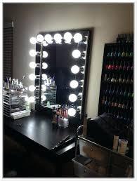 black vanity set with lights new black makeup desk vanities vanity table set with stool within