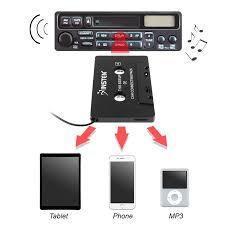 amazon com insten 3 5mm universal car audio cassette adapter for