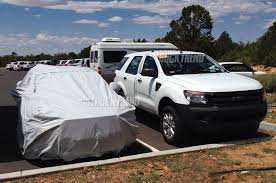 Ford Ranger Utility Truck - mystery ford suv spied at grand canyon new explorer or everest