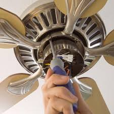 installing a new ceiling fan or replace a ceiling fan