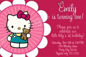 hello kitty birthday party invitations ideas u2013 bagvania free