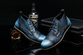men u0027s dress formal oxfords genuine leather boots business casual