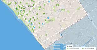 Venice Beach Map Venice Opens First Official Breeze Bike Share Hub Santa Monica Next