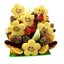 fruit bouque oh happy days fruit bouquet sweet things bakery