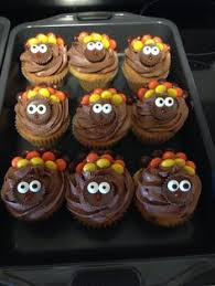 reese s pieces turkey cupcakes happy thanksgiving cupcakes by me