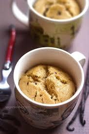 one bowl vanilla chocolate chip vegan mug cake recipe