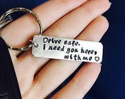 personalized keychain gifts boyfriend gift etsy