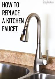 installing a kitchen sink faucet chrison bellina