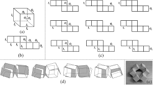 kinetogami a reconfigurable combinatorial and printable sheet