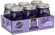 purple kitchen canisters glass kitchen canisters jars ebay