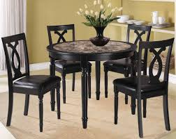 Dining Room Table Black Black Kitchen Tables Of Luxury Nice Round Table And Chairs Dining