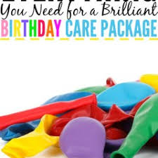 Birthday Care Package Diy Archives Jo My Gosh