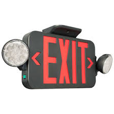 exit emergency light combo emergency lighting exit signs sign light combo units hubbell