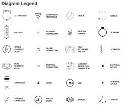 schematic diagram circuit symbols circuit and schematics diagram
