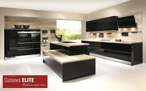 cuisine noir laqué cuisine noir laque cuisine noir laque et bois 45 dijon 27490135