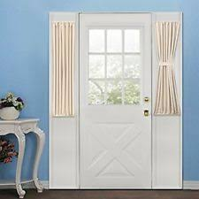 Half Door Curtain Panel Sidelight Curtains Ebay