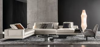 white seating system by rodolfo dordoni for minotti living room