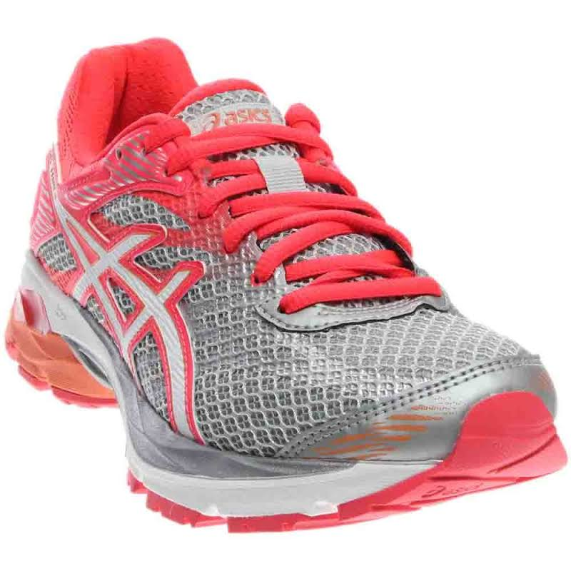 ASICS GEL-Flux 4 Running Shoes Grey;Pink- Womens