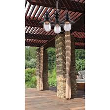 Dallas Outdoor Lighting by Kenroy Home 93033orb Broadcast 3 Light Outdoor Chandelier In Oil