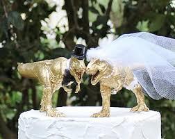 dinosaur wedding cake topper dinosaur cake topper etsy
