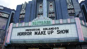 halloween horror nights show times horror make up show at universal studios florida