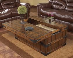 Living Room Table Decor by 30 Best Collection Of Wooden Trunks Coffee Tables