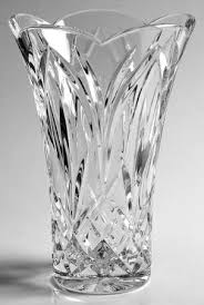 Vintage Waterford Crystal Signed 8 Inch Flower Vase In Waterford Glenfall At Replacements Ltd