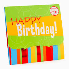 card impressions happy birthday gift card holder