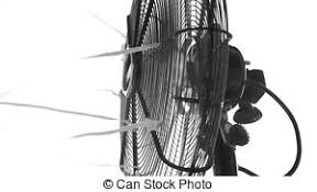 old fashioned electric fan classic electric fan an old fashioned metal electric fan stock