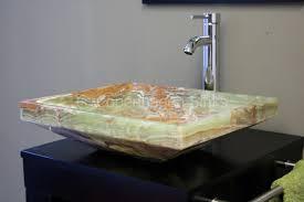 Black Vessel Sink Faucet Bathroom Endearing Bathroom Design Ideas With Round White Ceramic