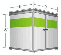 Pods Cost Estimate by Moving Container Size Relocube U Pack