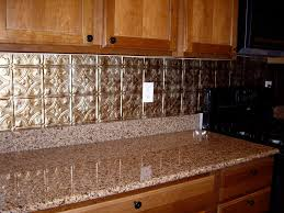 elegant tin backsplash u2013 home design and decor