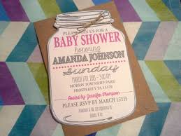 jar invitations jar baby shower invitations reduxsquad