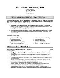 Pmp Sample Resume by It Project Engineer Sample Resume Uxhandy Com
