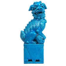 blue foo dogs blue foo dogs ebay