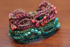 crochet bracelet images 60 eye catching crochet bracelet tutorials diy to make jpg