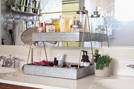Bathroom Counter Shelves Bathroom Countertop Shelves Creative Storage Ideas Unorthodox