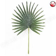 anti uv protection artificial pe palm tree leafs leaves 85cm dongyi