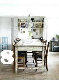 dining table shabby chic dining table and 6 chairs ebay shabby