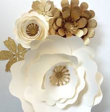 White Flower Wall Decor Paper Flower Wedding Reception Wall Ideas Mid South Bride