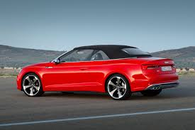 audi convertible interior 2017 audi s5 and a5 cabriolet chop their tops at la by car magazine