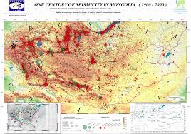 Dr Map Thematic Maps Of Mongolia Mongols Eu