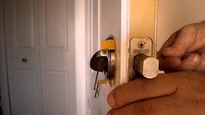 how to pick a bedroom lock how to pick a grade 1 security schlage door lock youtube