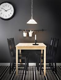 ikea dining room light fixtures for low ceilings with wall clock
